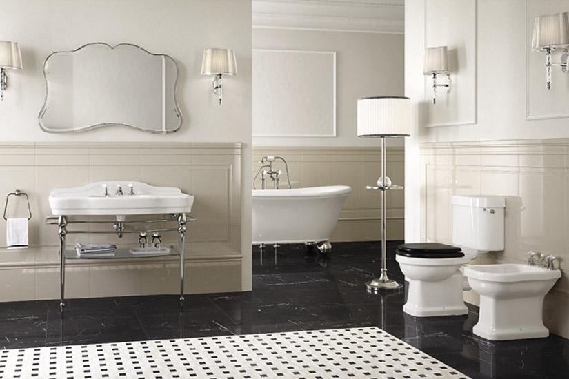 Sanitari per un bagno in stile inglese e retrò: i nostri consigli