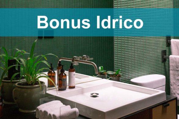 Bonus idrico per la sostituzione di sanitari e rubinetti