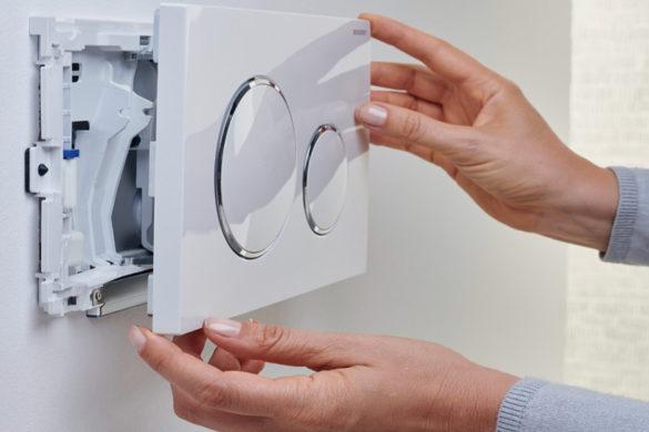 Come cambiare e regolare il galleggiante del wc a muro