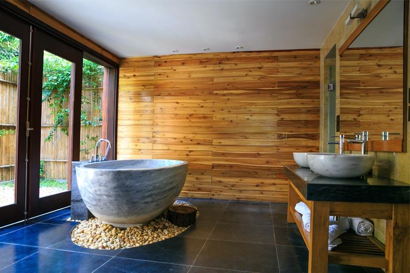 Bagni in legno moderni e rustici