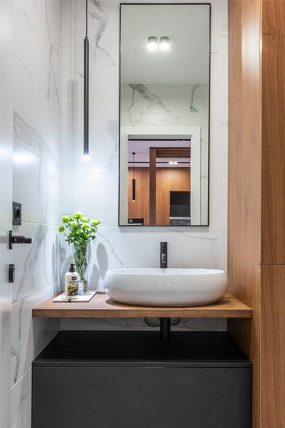 Pianta bagno lavandino